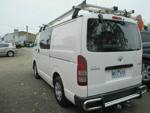 2008 Toyota Hiace LWB TRH201R MY07 Upgrade Van
