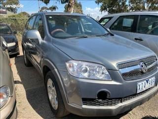 2009 HOLDEN CAPTIVA SX (FWD) CG MY10 4D WAGON