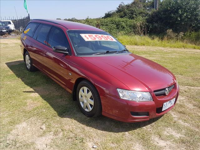 2006 HOLDEN COMMODORE EXECUTIVE VZ MY06 UPGRADE 4D WAGON