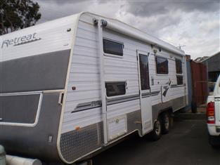 2008 Retreat Daydream Caravan - family van