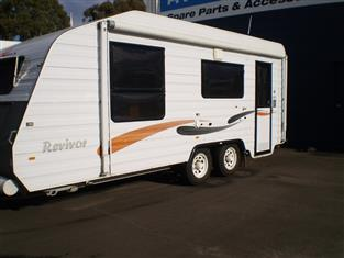 2011 Nova Revivor Caravan.