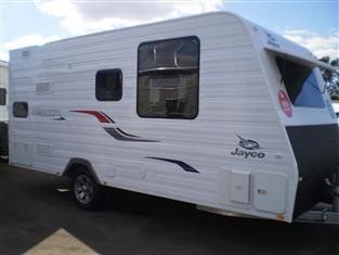2018 Jayco Freedom Caravan ..... Model 16.51-4