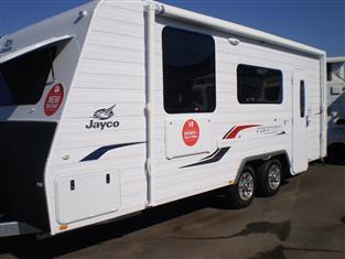 2018 Jayco Freedom Caravan..... Model 19.61-4 - NEW