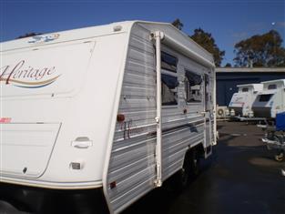 2002 Jayco Heritage Caravan