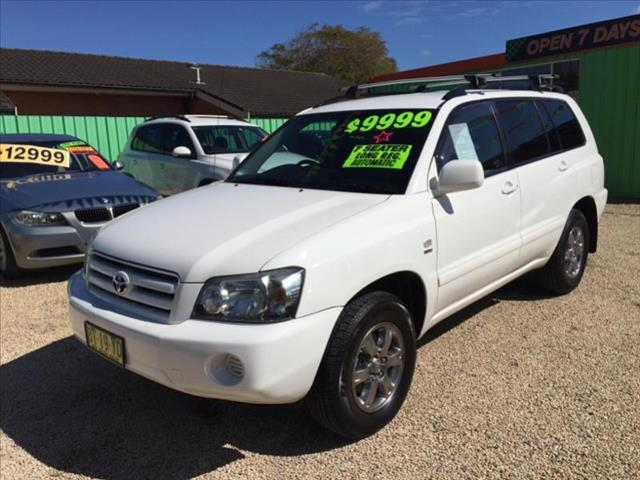 2007  Toyota Kluger CV 4x4 7 Seater Mcu28r 7 seat Wagon