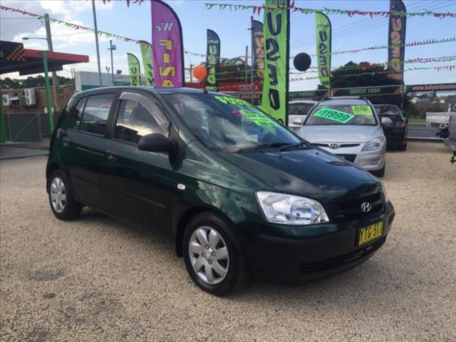 2002  Hyundai Getz GL  5Door hatch