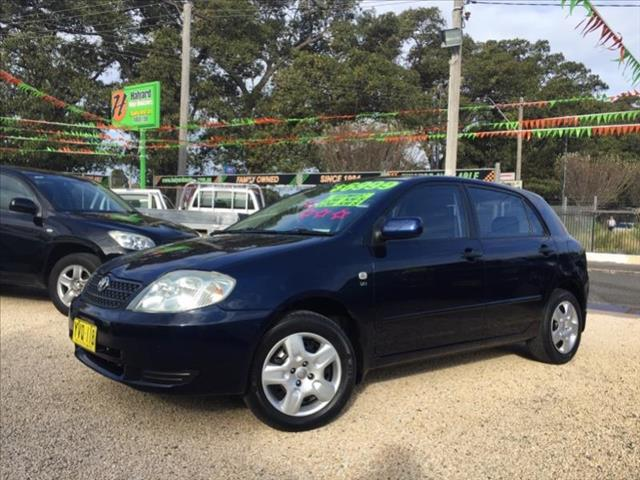 2003  Toyota Corolla Accent Seca ZZE122R 5Door hatch