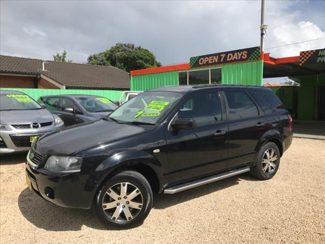 2008  Ford Territory SR 7 seater Sy 7 seat Wagon