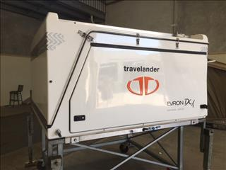 Travelander DC4 2015 Evron Slide on Camper 4X4 OFF Road Easy set up