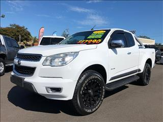 2012 HOLDEN COLORADO LTZ (4x4) RG SPACE CAB P/UP