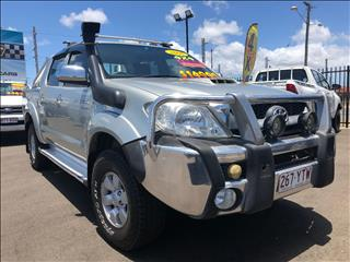 2006 TOYOTA HILUX SR5 (4x4) GGN25R DUAL CAB P/UP