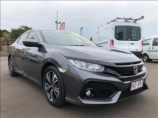 2017 HONDA CIVIC VTi-LX MY17 5D HATCHBACK