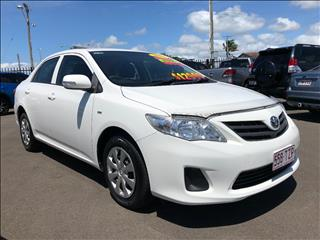 2013 TOYOTA COROLLA ASCENT ZRE152R MY11 4D SEDAN