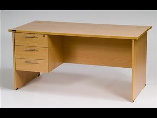 Desk with Drawers 1800 x 900
