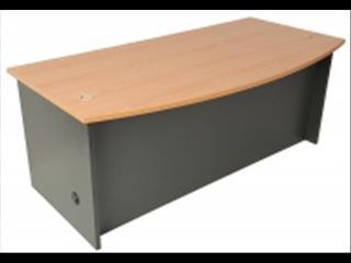 Desk Bow Front...1800 x 900/750