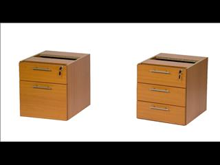 (Drawers)   Fixed Pedestal
