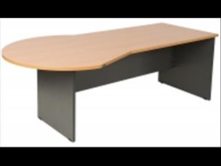 Desk 2150w x 800d/1050Dia