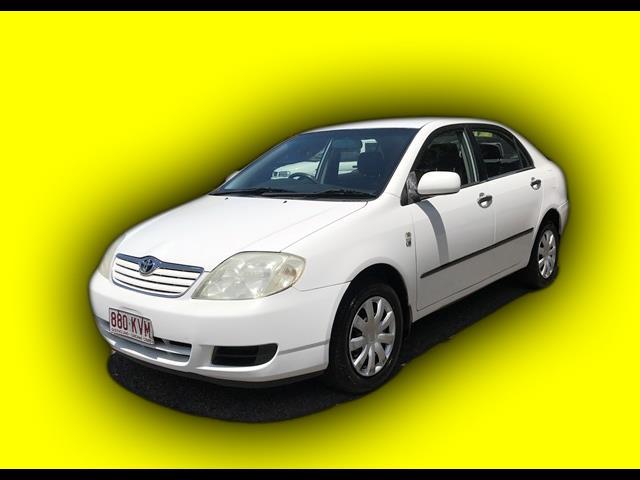 2005 Toyota Corolla Ascent  Sedan