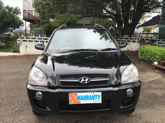 2007 Hyundai Tuscon SX  Wagon