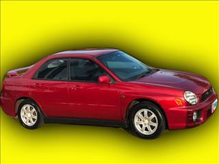 2001 Subaru Impreza RX (AWD)MY01 Sedan