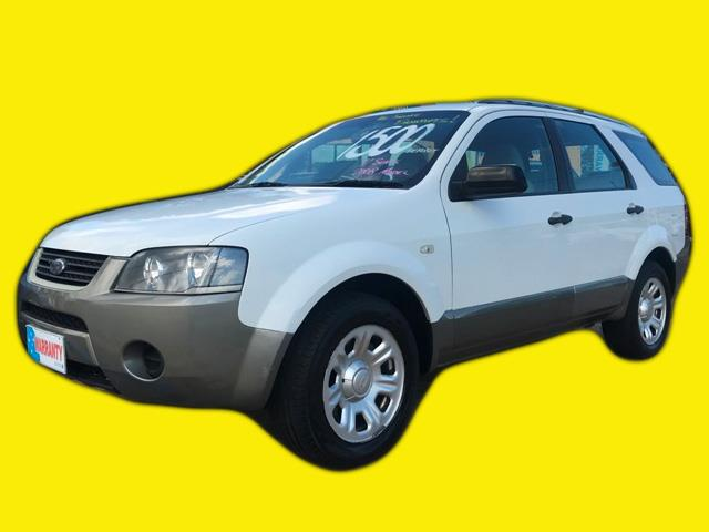 2008 Ford Territory 7 Seater Wagon