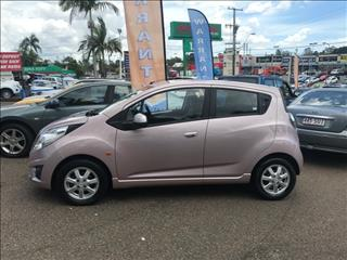 2010 Holden Barina Spark MJ MY11 CD Hatch