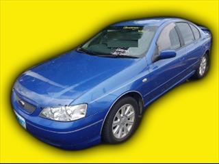 2002 Ford Falcon BA Futura LPG Sedan