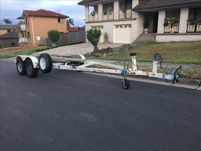 20ft tandem boat trailer