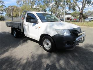 2013 TOYOTA HILUX WORKMATE TGN16R MY14 C/CHAS