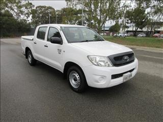2009 TOYOTA HILUX WORKMATE TGN16R 09 UPGRADE DUAL CAB P/UP