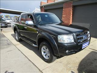 2007 FORD RANGER XLT (4x4) PJ SUPER CAB P/UP