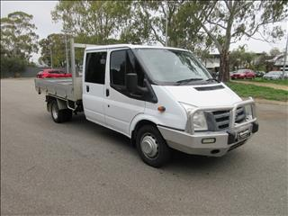 2010 FORD TRANSIT EXTENDED FRAME VM MY08 CREW C/CHAS