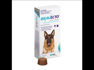 Bravecto Blue for Large Dogs weighing between 20-40kg