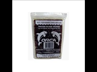Frozen Blood Worms 100g choc block