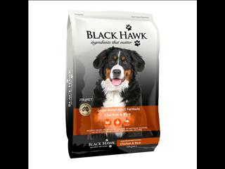 Black Hawk Large Breed Chicken & Rice 20kg