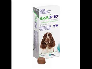 Bravecto Green for Medium Dogs weighing between 10-20kg