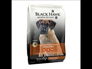 Black Hawk Large Breed Puppy Chicken & Rice 20kg