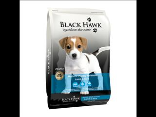 Black Hawk Original Puppy Lamb & Rice 20kg