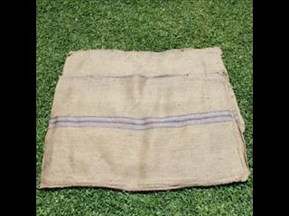 Purple stripe Hessian Bag/sacks