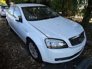 Holden Statesman WH 9/2008 (WRECKING)