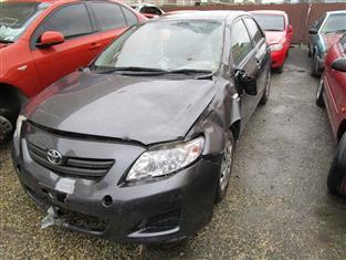 Toyota Corolla 8/2008 sedan (WRECKING)