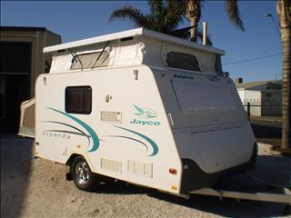 12' JAYCO EXPANDA 2007 POP TOP