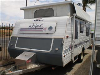 16' JAYCO WESTPORT SORRY I'M SOLD