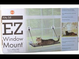 WINDOW MOUNT CAT LOUNGER. Sturdy and strong. www.thepethouse.com.au