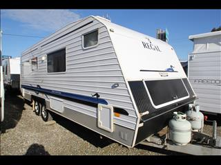 2008 Regal Comfort Tourer W/East West Bed & Combo Shower Toilet