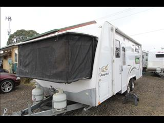 2009 Jayco Expanda W/Bunks & Combo Shower & Toilet