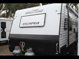 20'6 Golden Eagle Escape Family 2 bunk caravan with shower