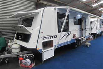 "Roma Pinto 16'10"" x 7'8"" Demo Caravan in stock - 1 only Tare 1900kg"