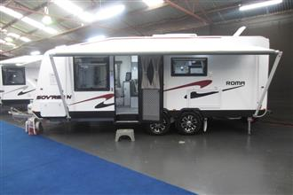 Roma Sov'reign Caravan  - 2015 Model - Floor Stock Sale!