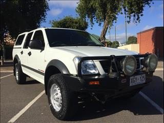 2005 HOLDEN RODEO LX RA MY05.5 UPGRADE CREW CAB P/UP